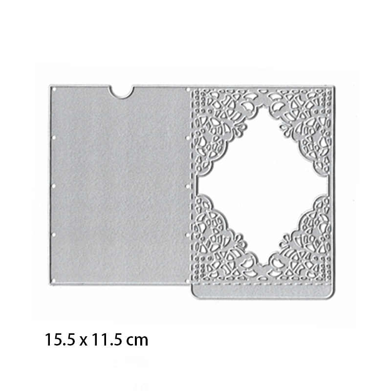 Wedding Invitation Dies Metal Cutting Dies New 2019 Scrapbooking Valentine's Day Decoration Craft Dies Cut for Card Making