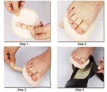 2Pcs Foot Massager Feet Care Hallux Valgus Orthopedic Metatarsal Crooked Overlapping Hammer Toe Straightener Corrector C171