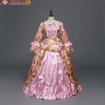 5f7ee75c1 Vestidos de Fiesta Vintage renacentista de estilo victoriano rococó vestido  de fiesta Medieval