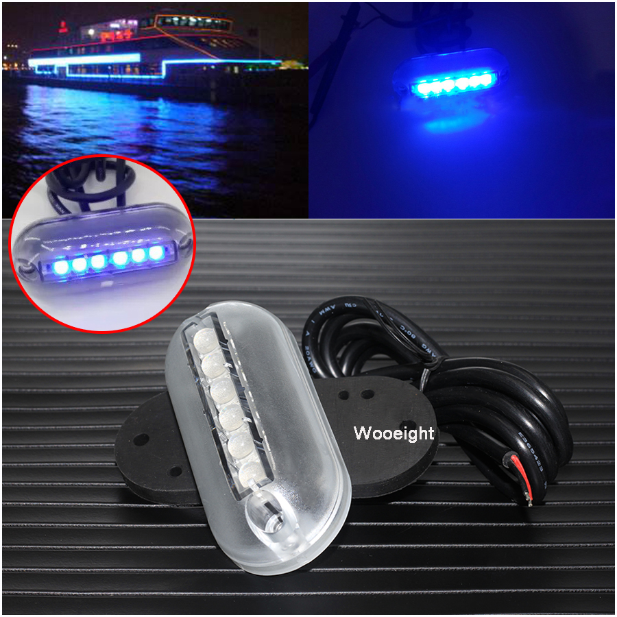 1pair Underwater Fishing Light Lamp Boat Light Night Water Landscape Cup 12v Led Lights For Marine Yacht Pontoon Car High Quality Automobiles & Motorcycles