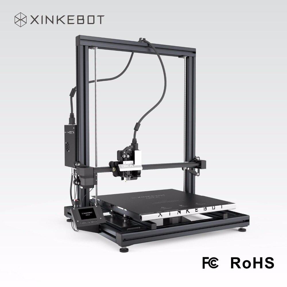 XINKEBOT Prusa i3 Orca2 Cygnus 3D Impresora 15.7*15.7 * 18.9in Vidrio Borosilica