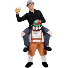 Новая забавная Косплэй Октоберфест Брюки фантазии Наряжаться Детский костюм для вечеринок фантазия для взрослых и детей милый Костюмы-талисманы костюм