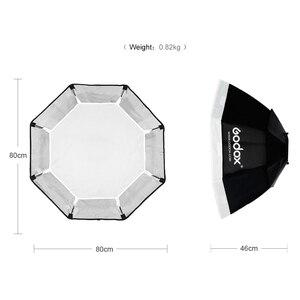 "Image 3 - Godox 80cm 31.5""  Octagon Softbox with Universal Mount for Studio Flash Godox K 150A K 180A 250SDI 300SDI E250 E300"