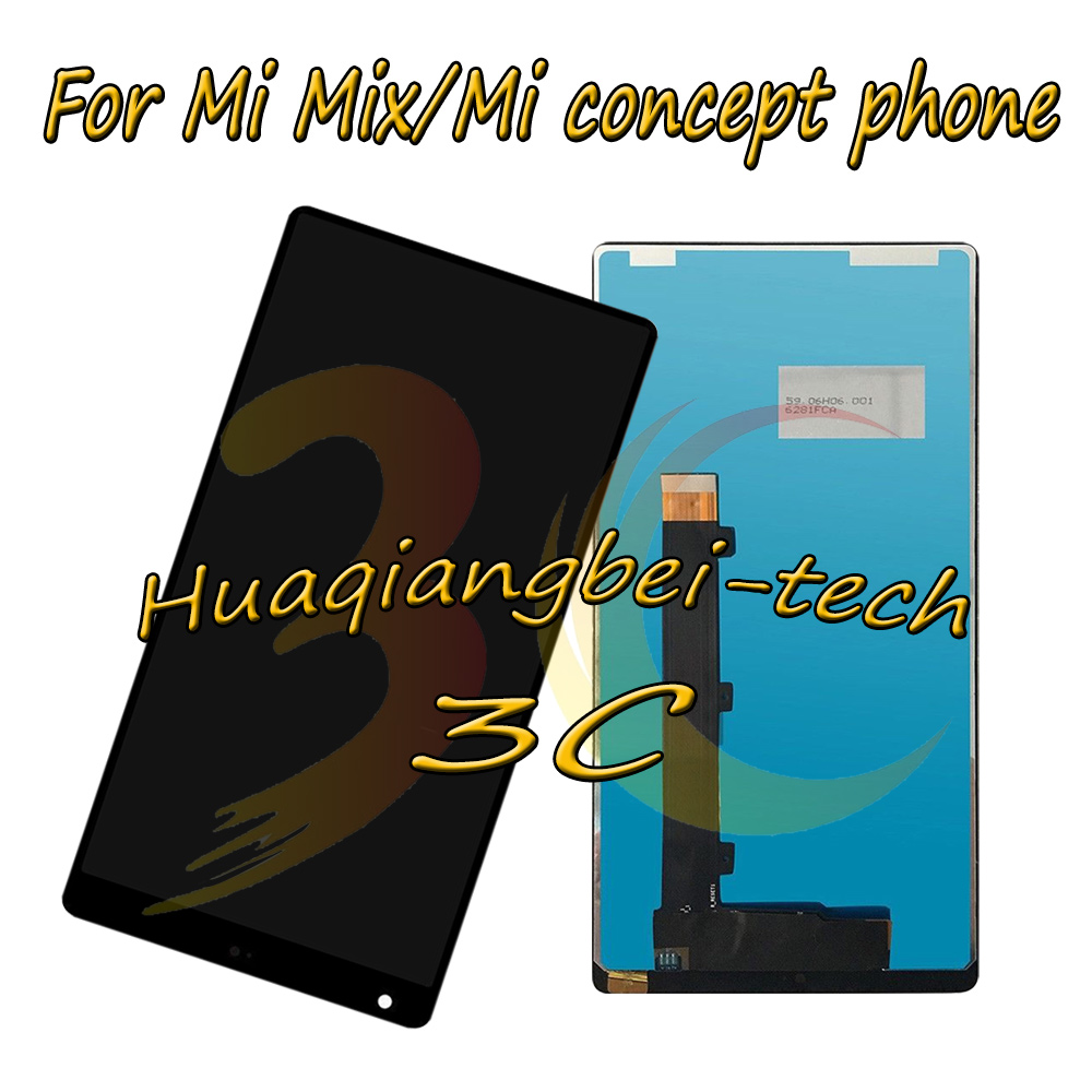 6.4 New For Xiaomi Mi Mix / Mi concept phone Full LCD DIsplay + Touch Screen Digitizer Assembly Black / White 100% Tested6.4 New For Xiaomi Mi Mix / Mi concept phone Full LCD DIsplay + Touch Screen Digitizer Assembly Black / White 100% Tested