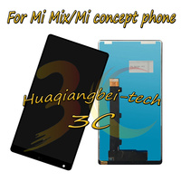 6 4 New For Xiaomi Mi Mix Mi Concept Phone Full LCD DIsplay Touch Screen Digitizer