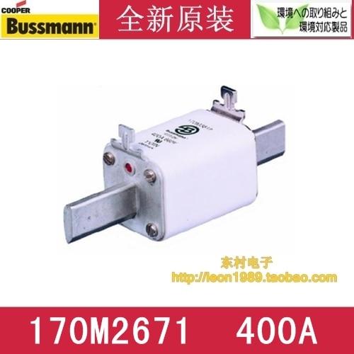 US imports COOPER BUSSMANN fuse 170M2671 400A 690V fuse пульсометр mio fuse s m cobalt