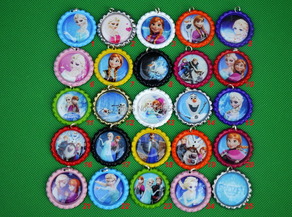 Wholesale 1000pcs lot anna elsa thermometer 1 39 39 colored for Wholesale bottle caps for crafts