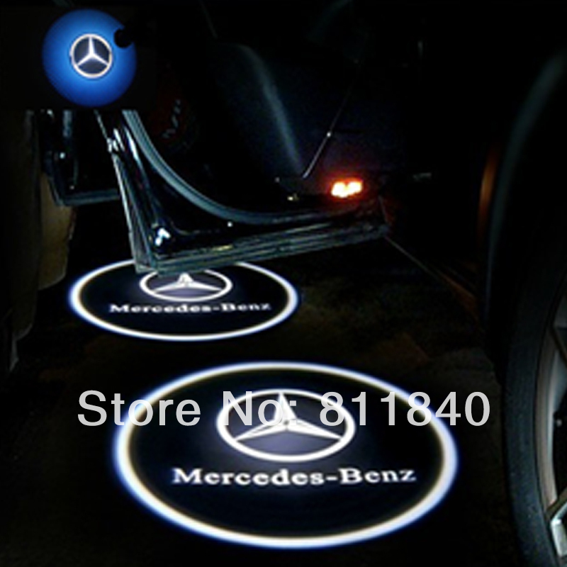 5th Gen 5w car auto lamp laser Logo 3D Led Door Ghost Shadow Projector Lights Mercedes-Benz - Shenzhen Wincci Electronic Co., Ltd store