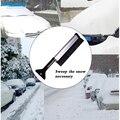 BROSHOO зима снег лопатой Многофункциональный Выдвижная телескопическая лопата для снега Автомобиль Снег Щетка лед лопатой автомобиль снегоуборочный помощник