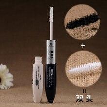 Высококачественная Водостойкая тушь для макияжа, удлиняющая ресницы, удлиняющая, двойная, черная, белая, XXL, тушь для ресниц, косметика#5003