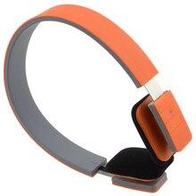Sport coloré casque sans fil Bluetooth casque stéréo mode casque réglable avec micro mains libres pour Smartphone