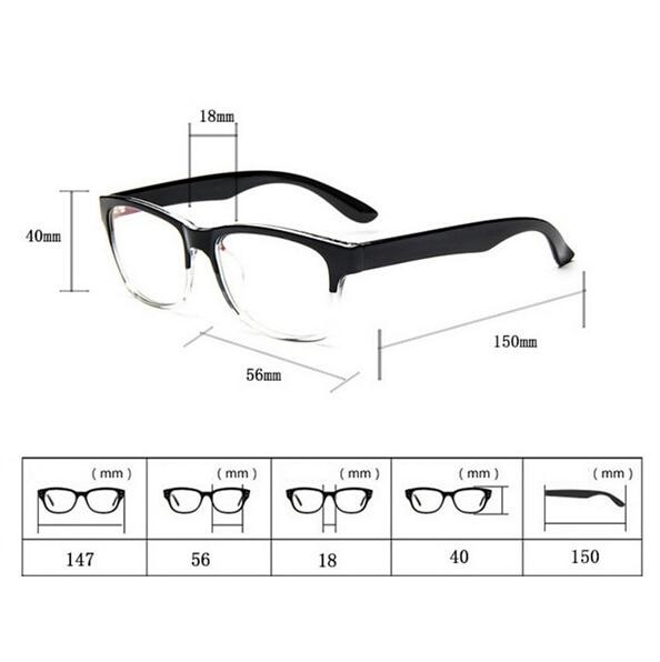 Nerd Computer Coole Brille Männerrahmen Männliche Brillen Optischer - Bekleidungszubehör - Foto 4