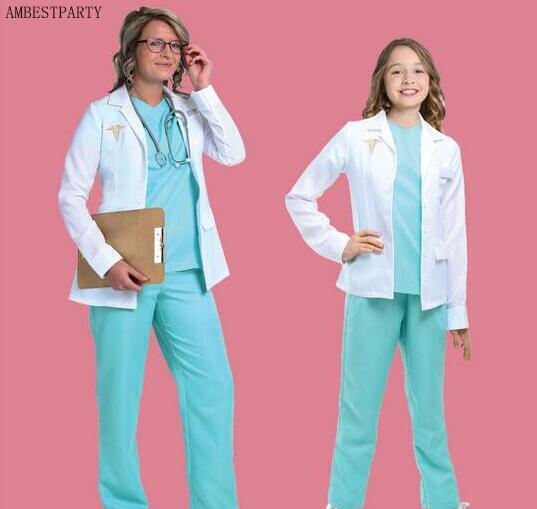 Hot 2017 Halloween Costume Naughty Nurse Costume Doctor Dress ...