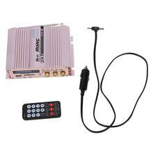 Хунсин 360 Вт 12 В 2 канала Hi-Fi стерео Усилители домашние fm Радио MP3 AMP Динамик и удаленного