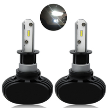 цены 2pcs 50W H3 LED Car Light Car Headlight Bulb DRL High Power Fog Light Daytime Running Light FOR Nissan Volvo Kia Chevrolet Mazda