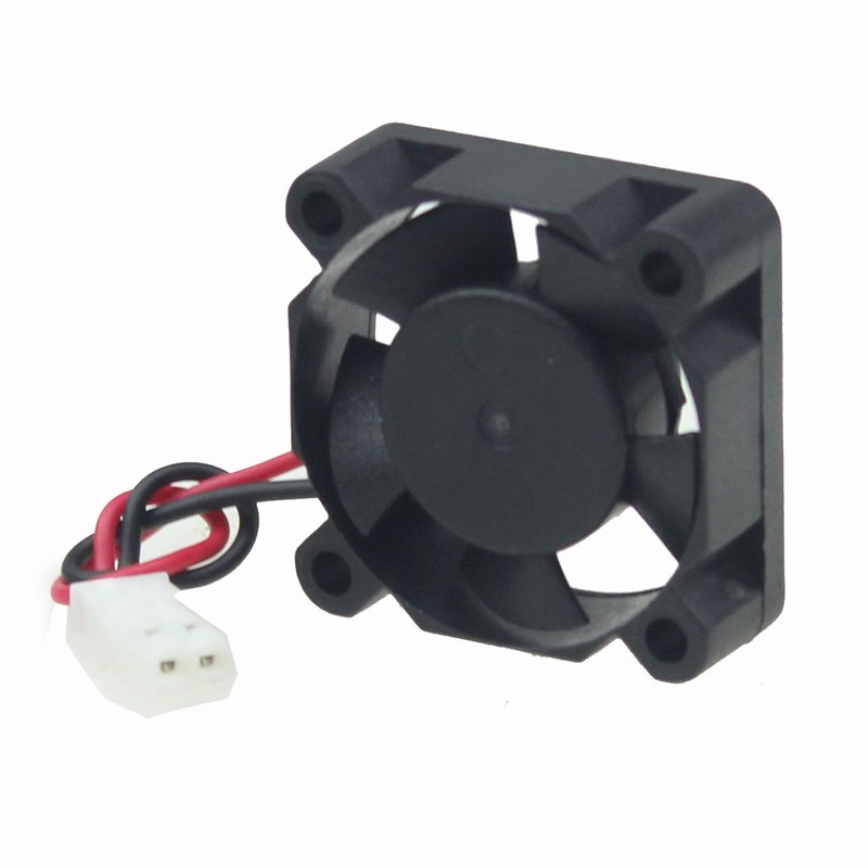 Купить с кэшбэком 2 Pieces Gdstime 3010 30x30x10mm 30mm 3cm 8.4v Two Ball Bearing White JST DC Brushless Cooling Cooler Fan