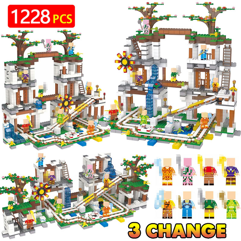LegoINGLYS Minecrafter The Mine My world Figure Kids Educational Building Blocks Bricks Toys For Children Gift 21118 qigong legendary animal editon 2 chimaed super heroes building blocks bricks educational toys for children gift kids
