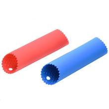 Pelador de ajos de silicona, herramienta de cocina, tubo de fácil rollo, útil, versión mejorada