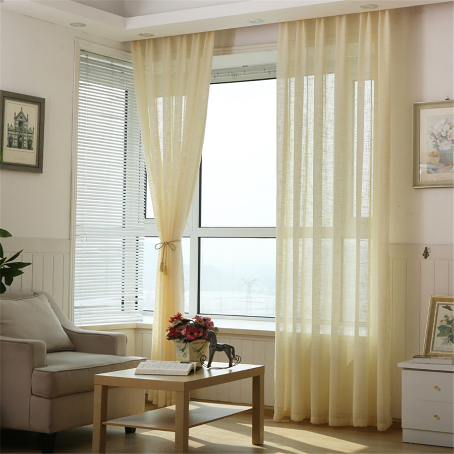 Linen window treatments - Linen Curtains Customized Multicolor Thicken Window Treatments Bedroom Living Room Curtains Gardinen Pink Blue White Curtains In Curtains From Home Garden