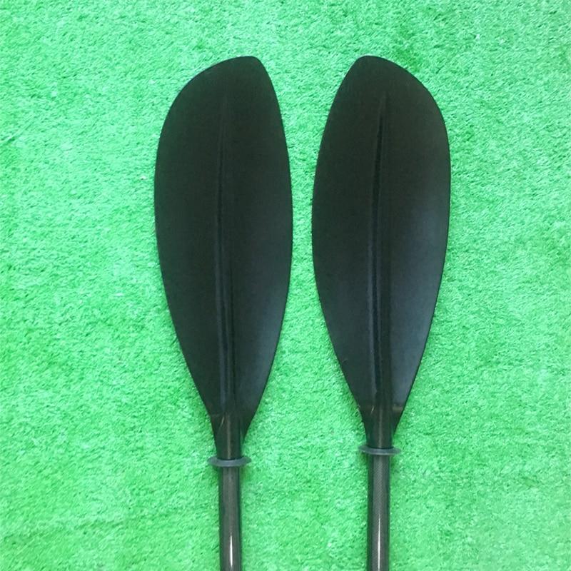 Hot Sale Filberglass Kayak  Paddle +Carbon  Shaft,Free Bag-Q23