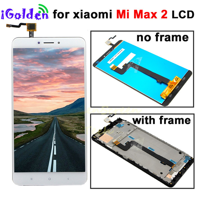 XIAOMI MI MAX 2 LCD Max2 IPS lcd display Touch Screen Digitizer with Frame Replacement Parts 1920*1080 for xiaomi mi max 2 lcd