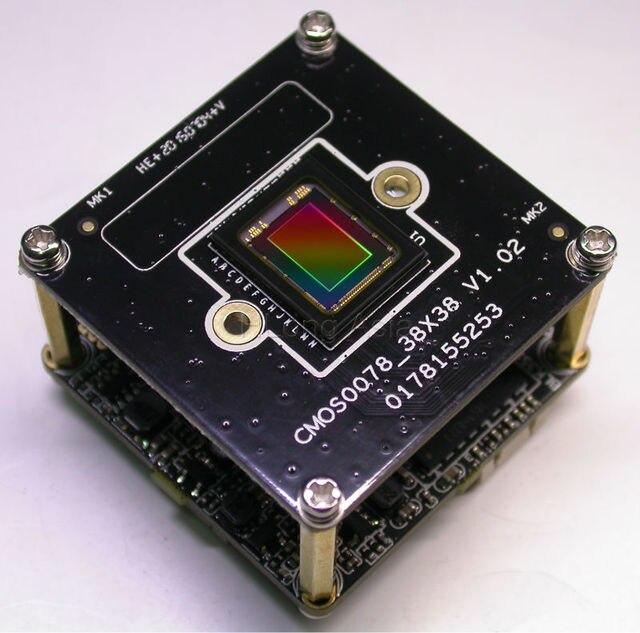 """H.265/H.264 IPC 5.0MP (2592x1944) 1/1 8 """"SONY"""" IMX178 + Hi3516A IP CCTV Cámara PCB Junta módulo"""