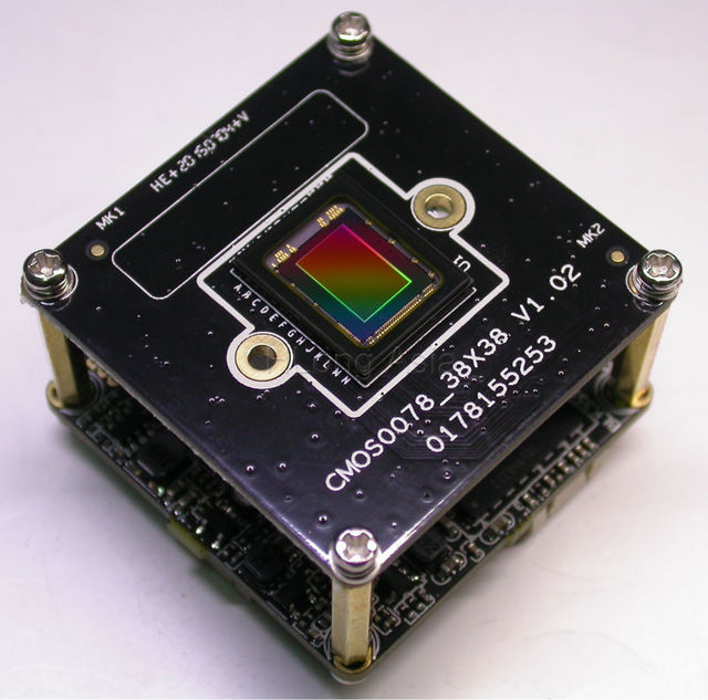 "H.265 ipc 5.0mp (2592x1944) 1/1. 8 ""sony imx178 + hi3516a junta módulo de cámara cctv ip"