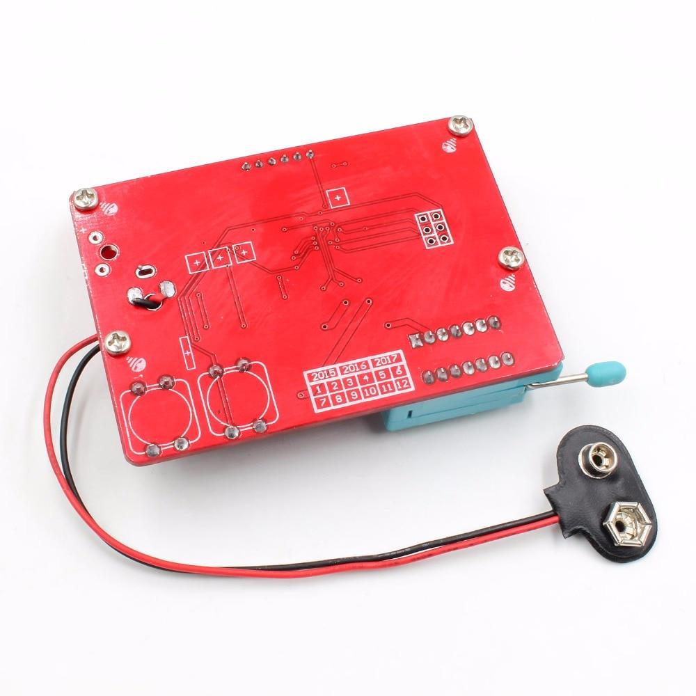 2015 ESR-T4 Mega328 Cyfrowy tester tranzystorów Dioda Pojemność - Przyrządy pomiarowe - Zdjęcie 6
