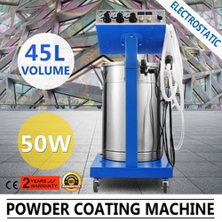 Electrostatic Powder Coating Machine High Capacity Home Appliances Hardware Security Door Fins Architectural
