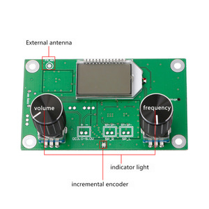 Image 3 - 1 PC 87 108MHz DSP&PLL LCD Stereo Digital FM Radio Receiver Module + Serial Control