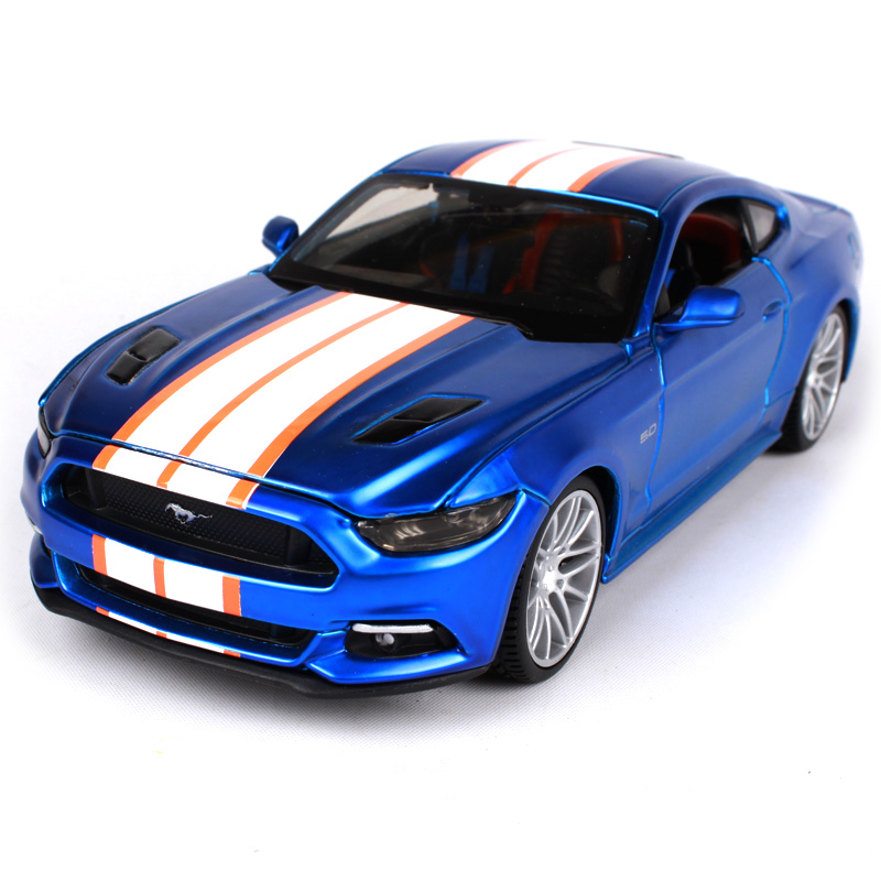 Maisto 1:24 2015 Ford Mustang GT Modern Muscle Diecast Model Car Toy New In Box Free Shipping 31369