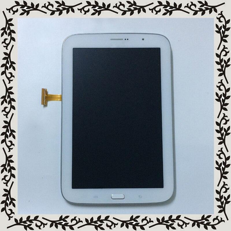 Bianco Per Samsung Galaxy Note 8 N5120 GT-N5120 Display LCD Monitor + Sensore di Tocco Digitale Dello Schermo del Pannello di Vetro di Montaggio + telaioBianco Per Samsung Galaxy Note 8 N5120 GT-N5120 Display LCD Monitor + Sensore di Tocco Digitale Dello Schermo del Pannello di Vetro di Montaggio + telaio