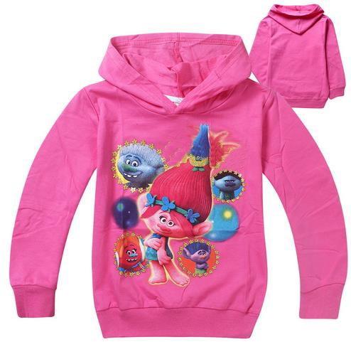 Girls hoodies sweatshirt kids clothes christmas tops children t shirts long Outwear sleeves clothing jacket 3-10 Years