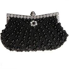 Neue Hand Made Perlen Abendtaschen Frauen Geldbeutel und Handtaschen Hochzeit Braut Taschen Exquisite Kupplungen für Hochzeit