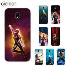 Ciciber Aquaman Marvel สำหรับ Samsung Galaxy J8 J7 J6 J5 J4 J3 J2 J1 Pro Core Plus Prime mini 2017 2018 2016 โทรศัพท์กรณี TPU(China)