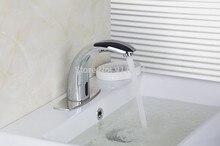 Кухня бассейна Раковина кран чувство Chrome автоматического смысле смеситель кран de-0201