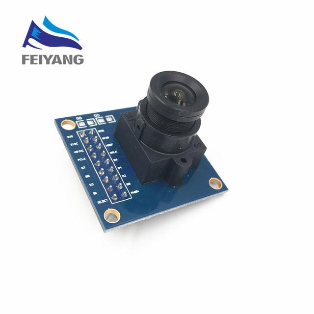 1pcs OV7670 camera module Supports VGA CIF auto exposure control display active size 640X480