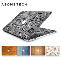 Wooden Flower Grain Laptop Skin Sticker Decal For Apple Macbook Air Pro Retina 11 12 13