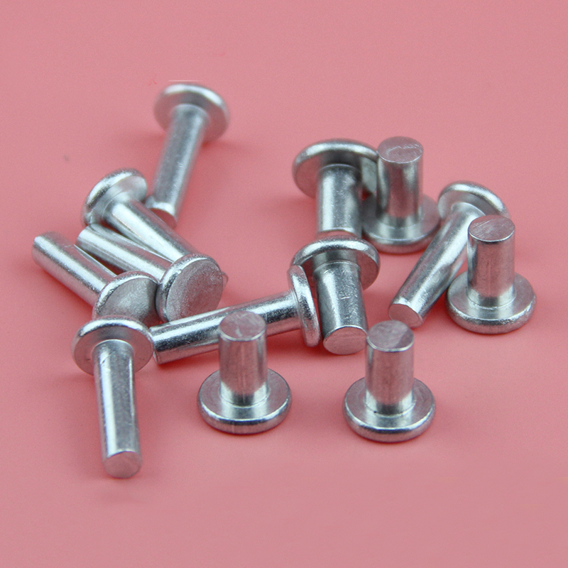 1//8 X 1//2 Brazier Head 6053T61 Aluminum Rivets 100 pcs Box