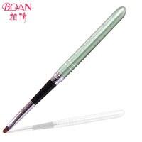 Boqian Metal Handle Pure Kolinsky Hair UV Gel Brush For Nail Polish 4 10pcs Lot