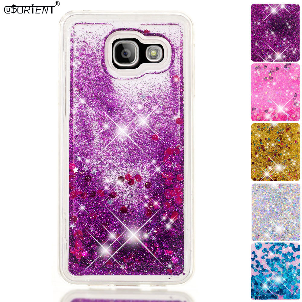 Cellphones & Telecommunications Half-wrapped Case Clever For Samsung Galaxy A3 2016 Bling Glitter Dynamic Quicksand Liquid Case Sm-a310f Sm-a310f/ds Sm-a310x Fitted Silicone Cover Funda