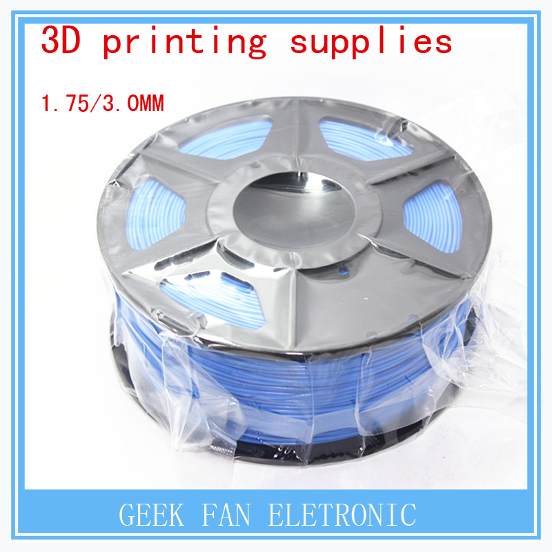 ФОТО 3d printing supplies BLUE color  1.75mm 3mm consumables 3d print pla three dimensional material 1kg