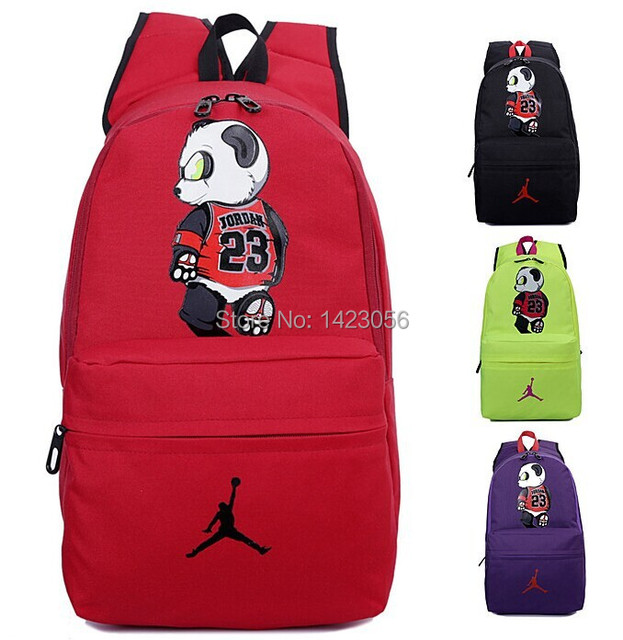 New Item China Panda backpack JORDAN basketball bag Sports Bag school bags  computer bag jordan backpack Free Shipping