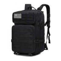 45L Открытый военный камуфляжный рюкзак десантный тактический рюкзак для стрелы спортивные походные рюкзаки