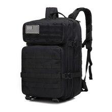 45L Outdoor Militare Camuffamento Zaino Assalto Tattico Fanteria Sport Zaino Campeggio Trekking Bag Zaini