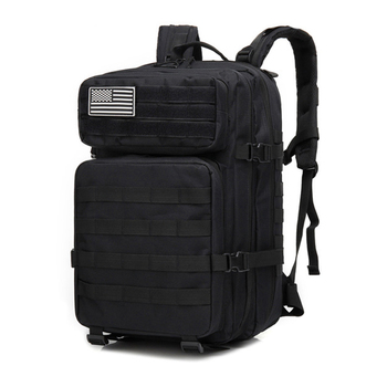 45L Outdoor Military Camouflage Backpack Assault Tactical Infantry Rucksack Sports Camping Hiking Bag Backpacks