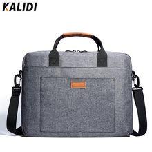 KALIDI 13.3 - 17.3 Inch Notebook Briefcase Business Messenger Bag Laptop Shoulder Bag for Dell Alienware / Macbook / Lenovo / HP