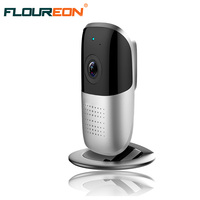 185 Degree Panoramic View Network IP Surveillance Camera Support 12GB Motion Detection Alarm Two Way Audio