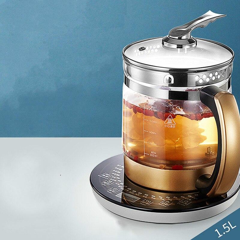 Kür pot Tam otomatik kalınlaşmış cam dolgulu su ısıtıcısı çay su ısıtıcısı/elektrikli ısıtıcılar