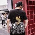 Homem camiseta homme 2016 verão cultura china vento algodão homem plus size 7xl 6xl 5xl t-shirt roupas Camiseta